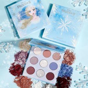 2 Colourpop Frozen Palettes Anna Elsa in Box